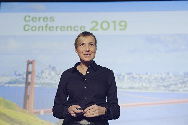 Delivering the opening keynote at the Ceres Conference!! I am so inspired by the meaningful dialogue coming out of this event, not to mention being surrounded by so many of my personal water heroes! #Ceres19 #GetUSThere . . . . . . #Ceres19 #ceres #sustainability #sustainableliving #keynote #runnindry #everydropcounts #waterscarcity #sdg6 #sustainabledevelopmentgoals2030 #waterwise #globalgoals #waterconservation #saveearth #savewater #savetheplanet #wateradvocate #speaker #water