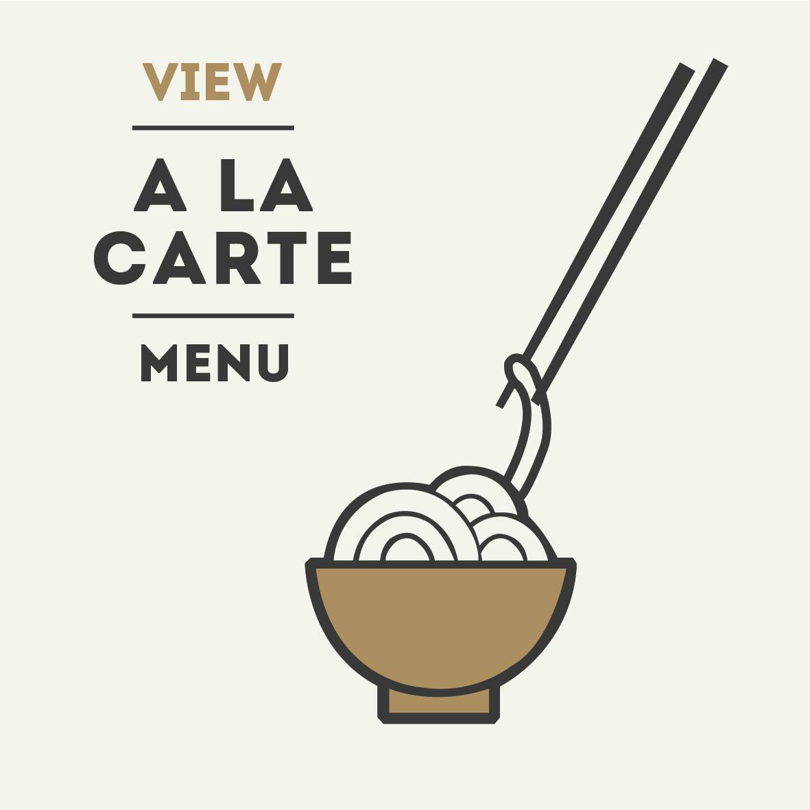 View the a la carter menu