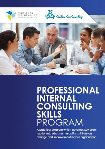 Professional Internal Consulting Skills Program