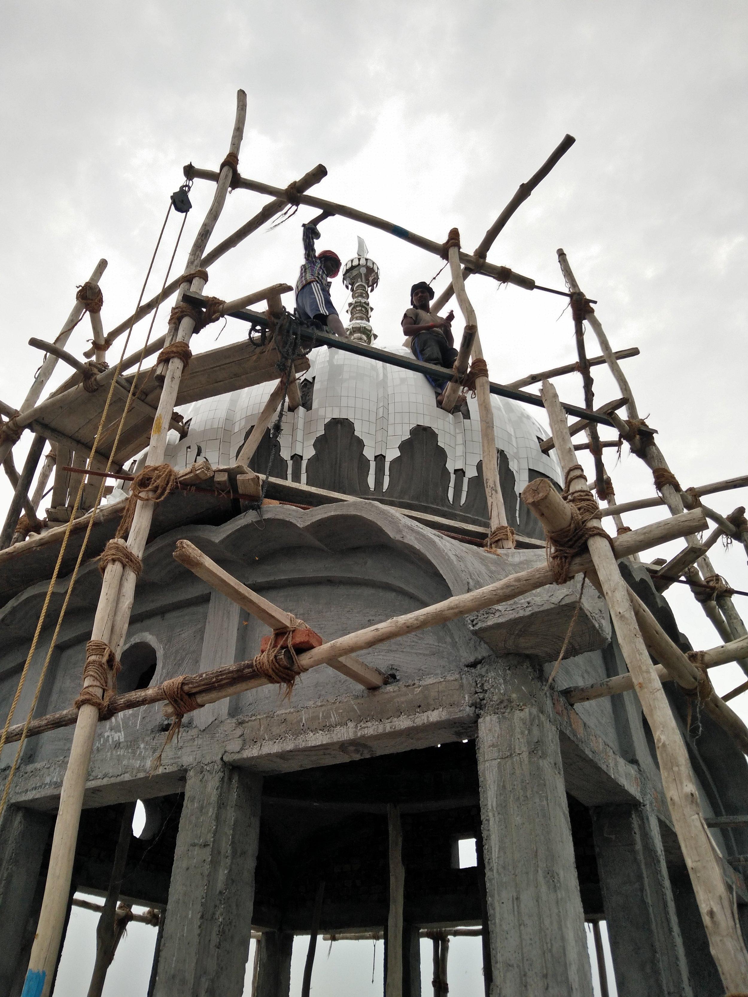 Gurdwara nears completion, Ludhiana, 9 June 2016