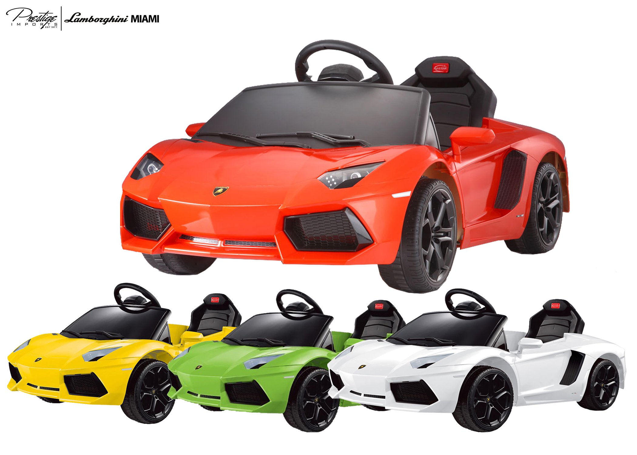 Lamborghini Aventador Kids Child