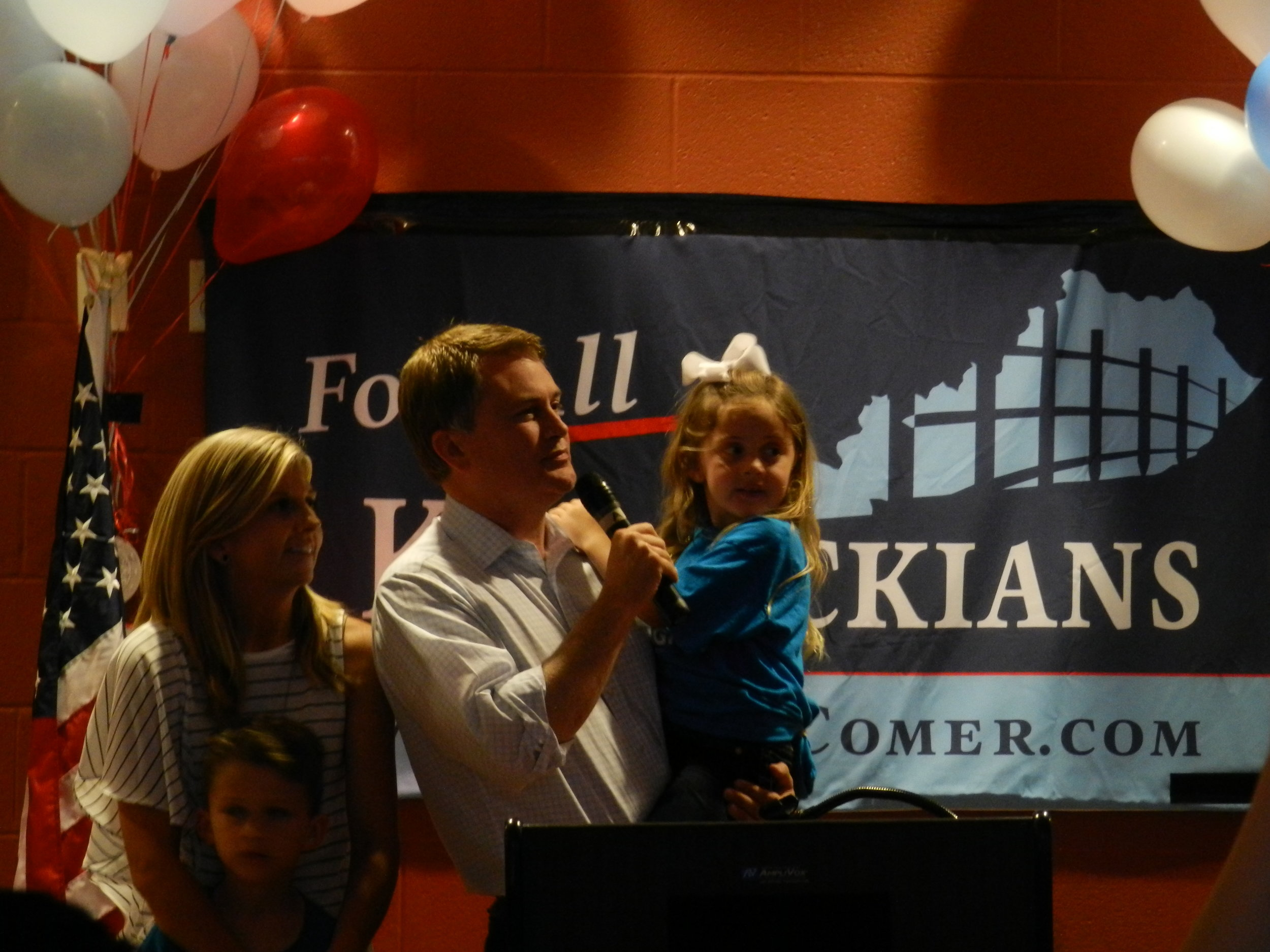 James Comer Elected to Congress