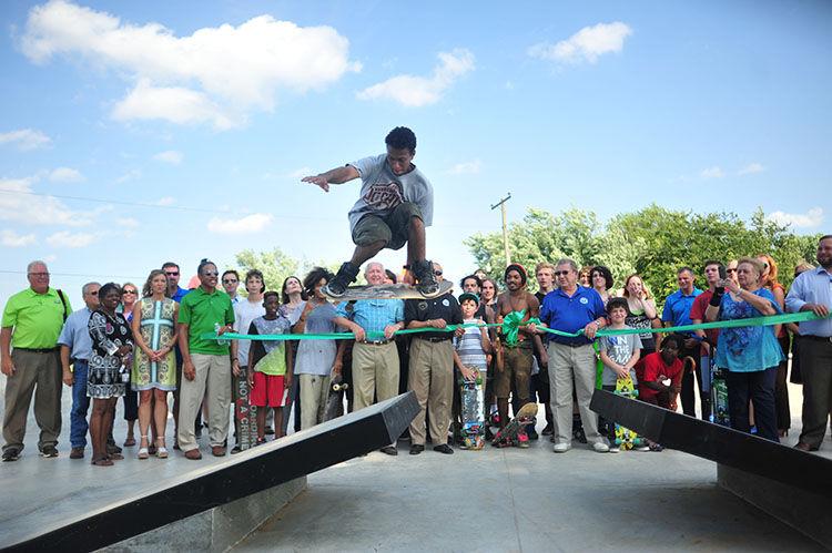 Skatepark Opens
