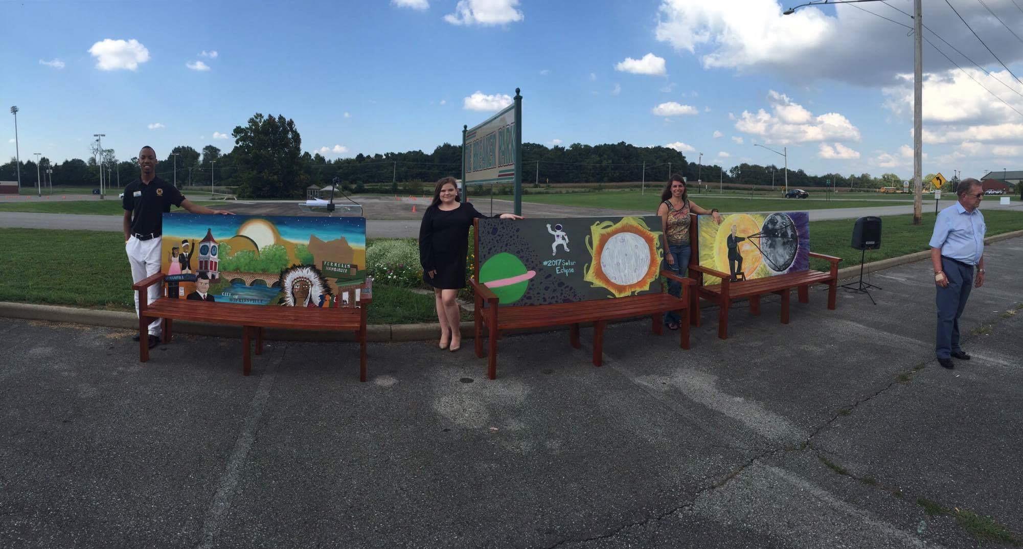 Art Hop Benches