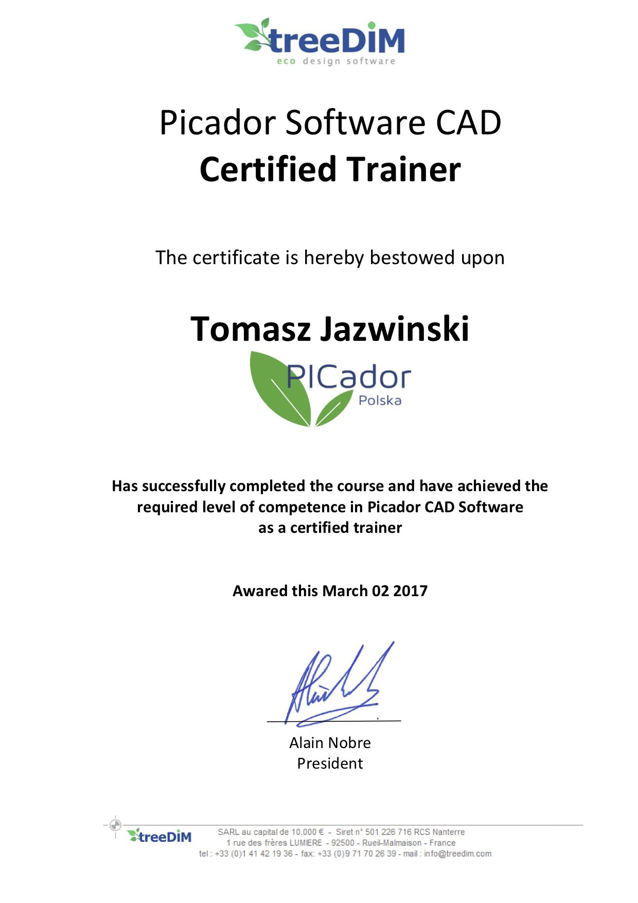 Certificate of Trainer Tomasz.jpg