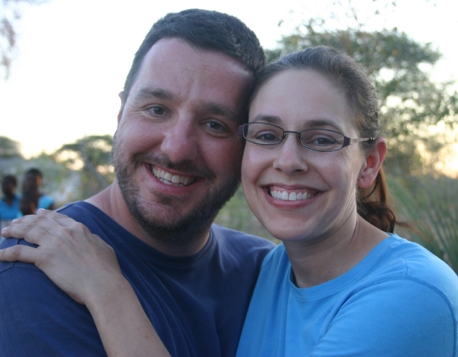 Daniel Sellers. The Teacher, Engineer, and Deep-Thinker. Pictured above with his wife, Jana.