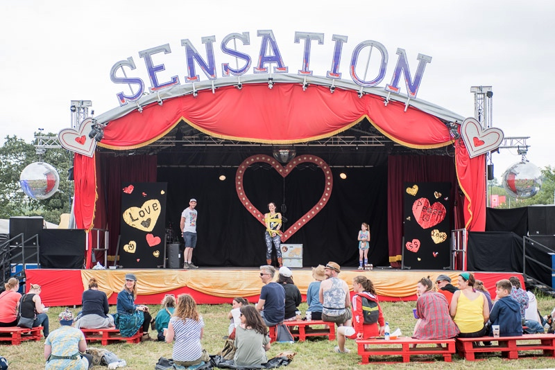 Sensation Seekers Stage, Glastonbury Festival
