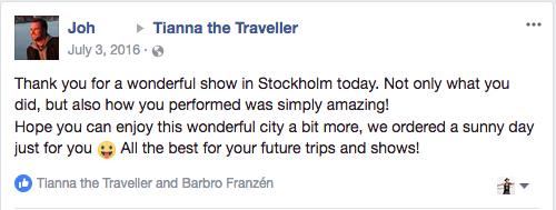 - Jon, Stockholm, Sweden