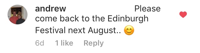 - Andrew, Edinburgh, Scotland