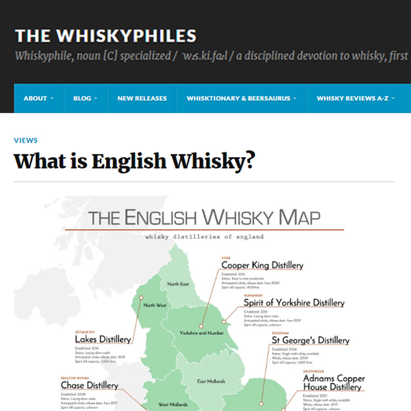 The Whiskyphiles   - What is English Whisky?
