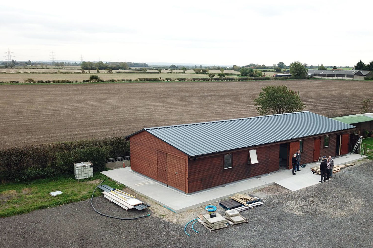 England's newest green distillery nears completion