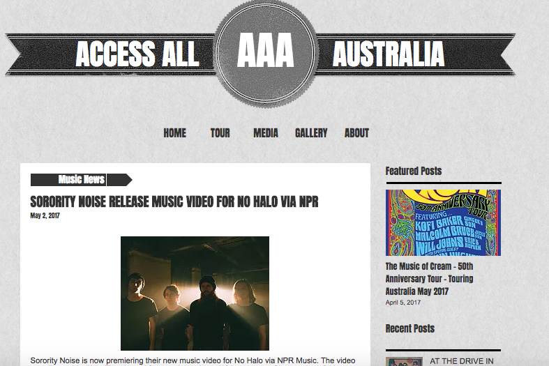 Photo used in Access All Australia article
