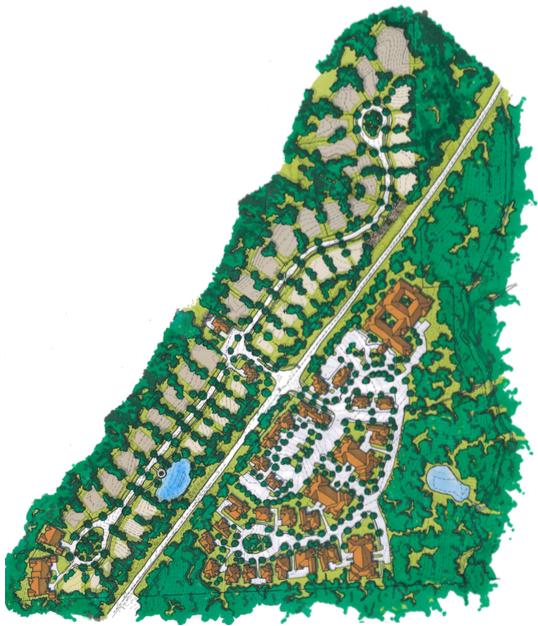 Brow Wood site plan