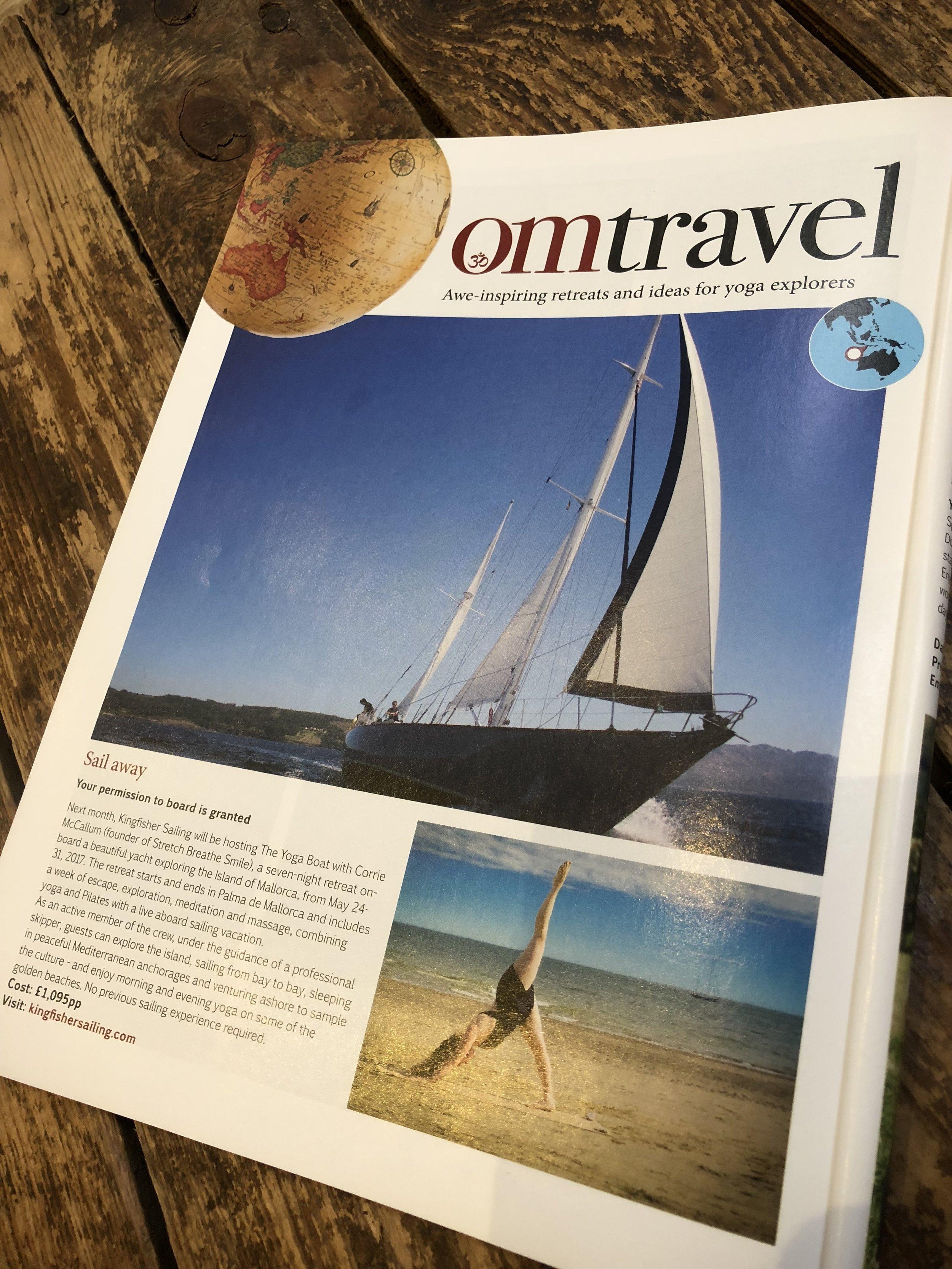 OM Yoga Magazine  - April 2017