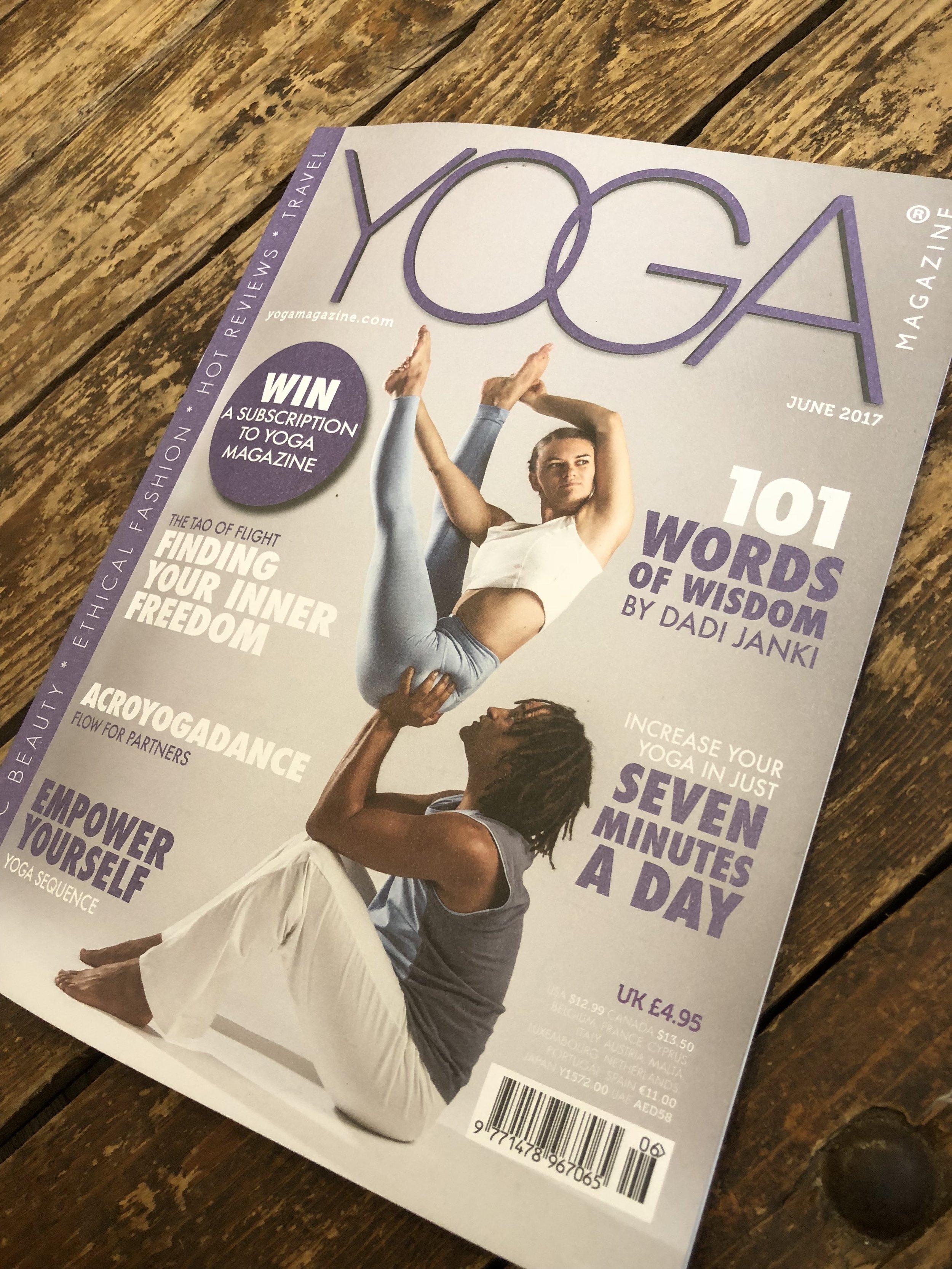 Yoga Magazine  - June 2017