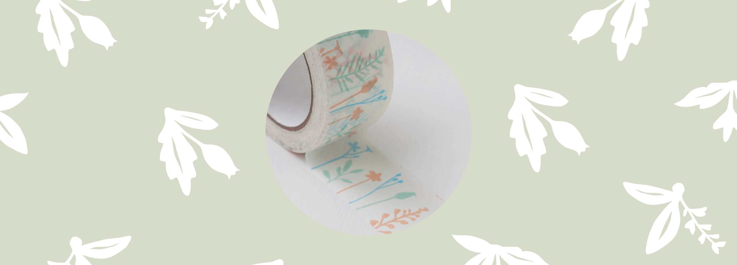 Floral Gift Tape