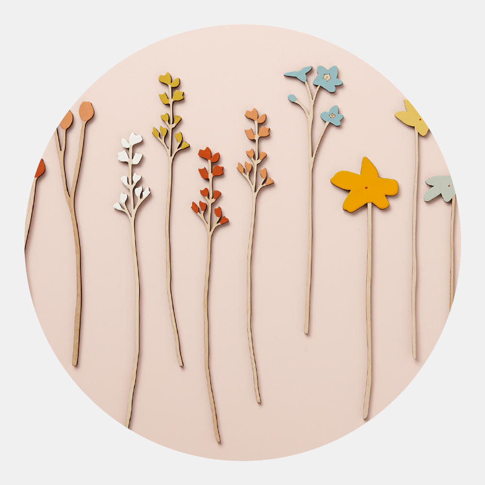 Pick-Your-Own Spring Bouquet - Create your own unique bouquet with flowers from our whole range and bring together something special for Spring. These elegant wooden blooms come in soft seasonal colours inspired by the English countryside.