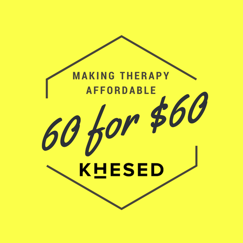Join us: - Our year-end 60 for $60 campaign takes us one step closer toward counseling being affordable for everyone, and you can be part of it.