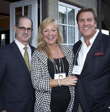 Eric Kaye, Lisa and Eric Bilhuber