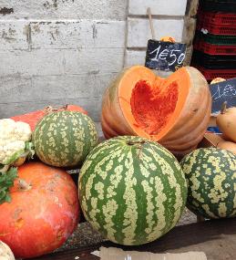 Pumpkin markets