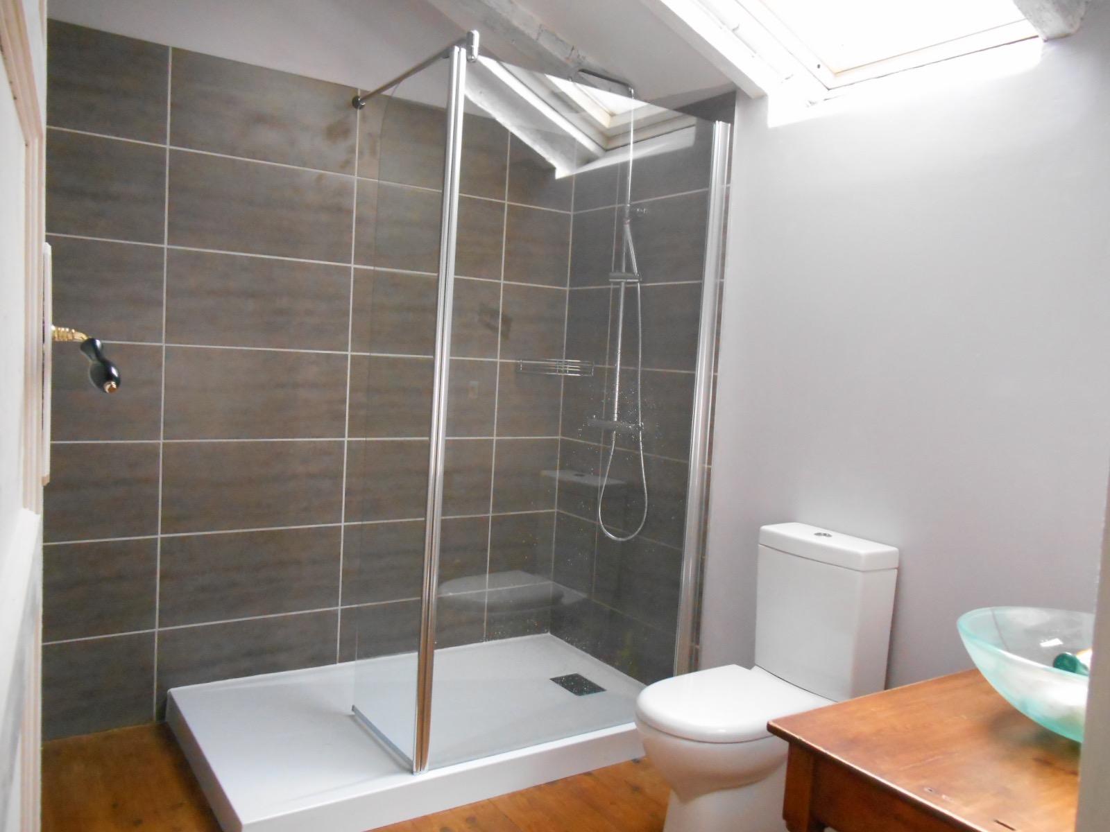 Modern bathroom holiday house