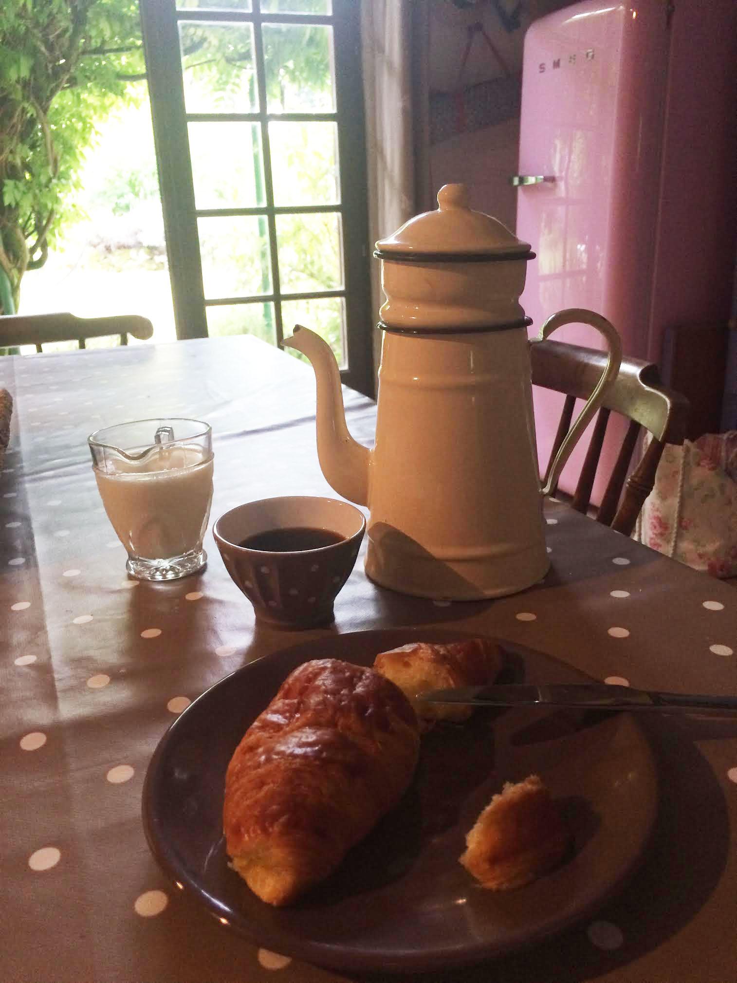 Breakfast coffee holiday