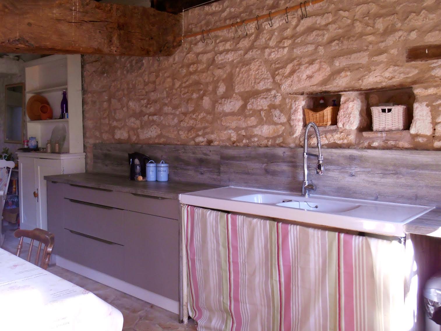 Modern holiday kitchen