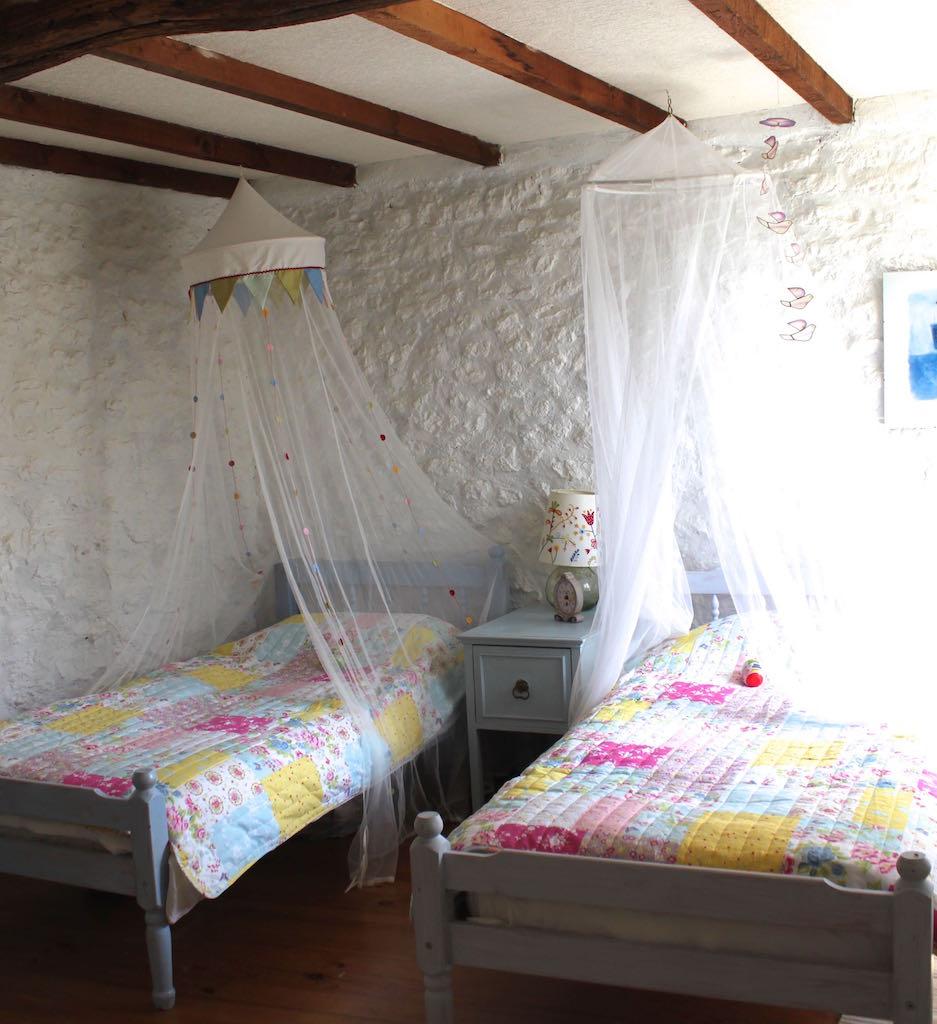 Twin holiday bedroom