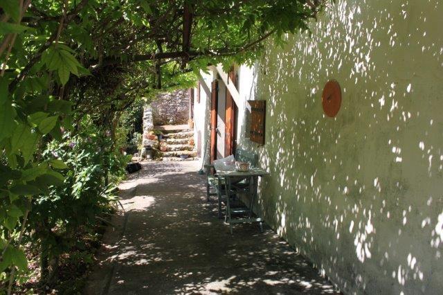 French house walkway