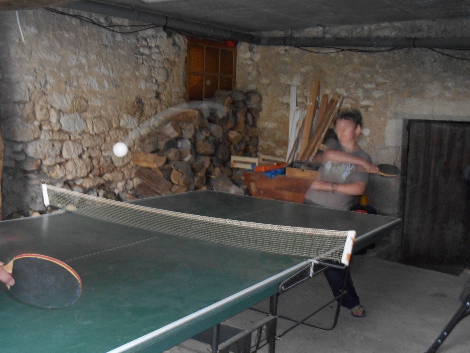 Table tennis French holiday