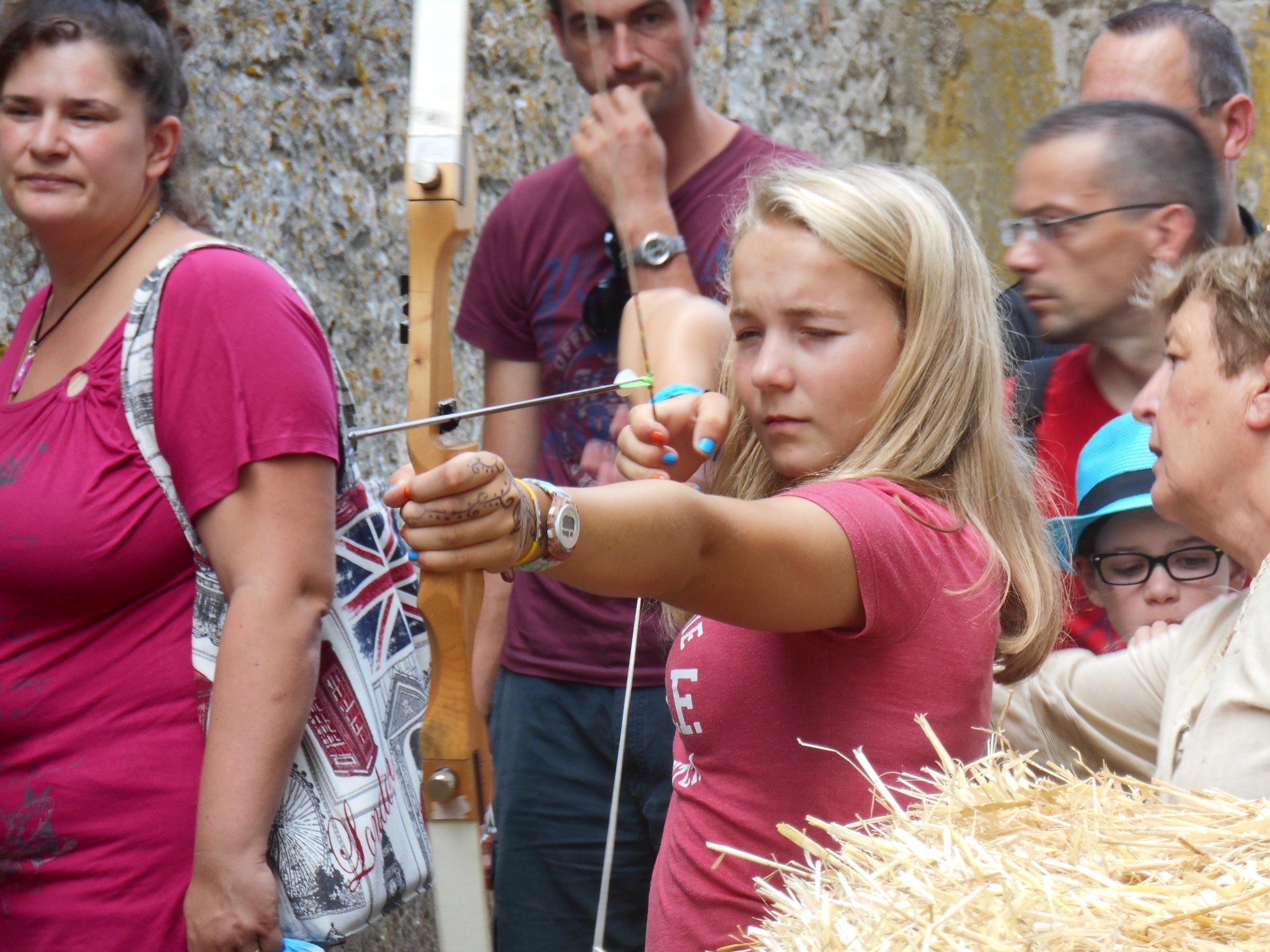 Archery French activity