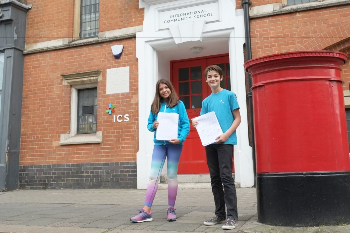 ICS students go through in BBC writing competition