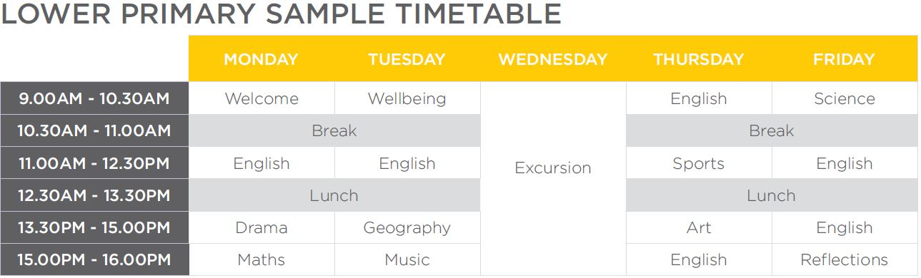 Lower Primary Timetable.JPG