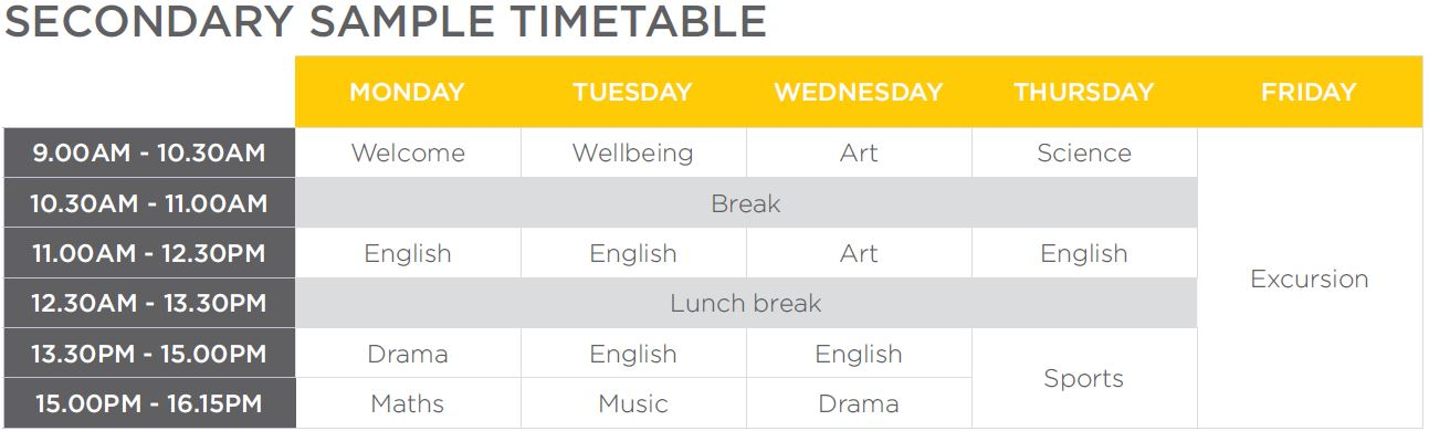 Secondary Timetable.JPG