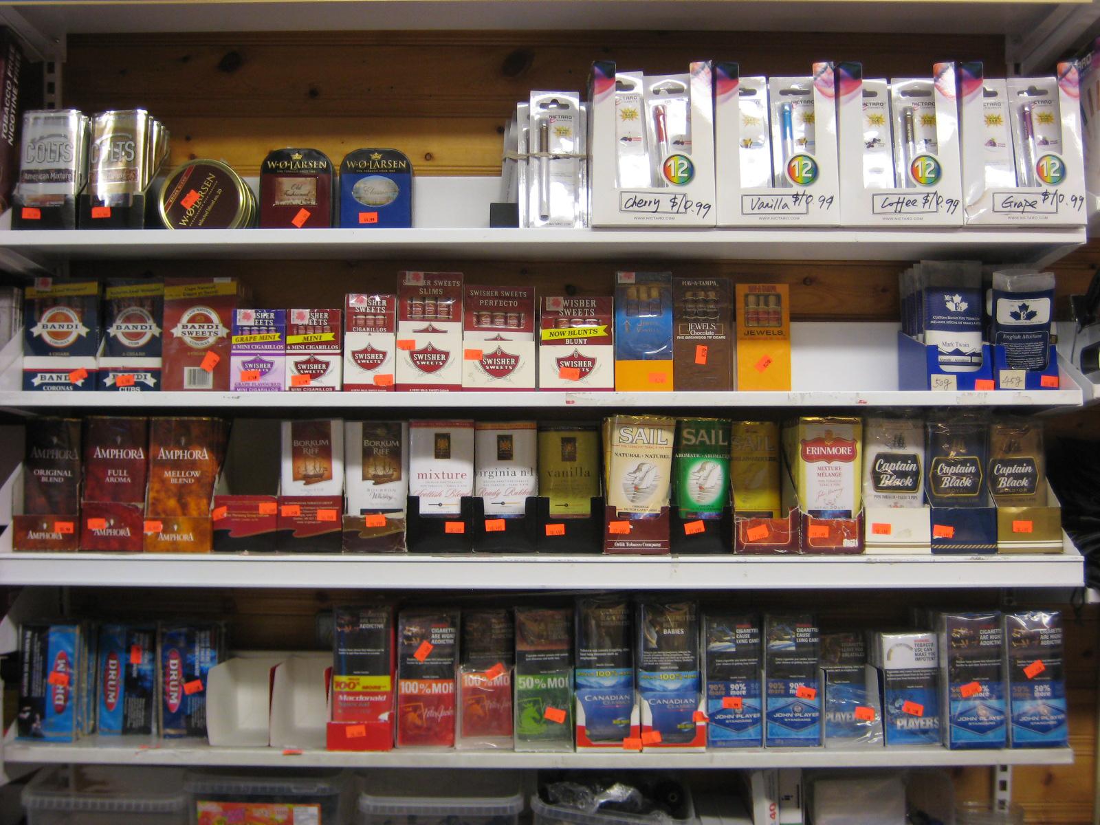 Dry Cigar selections B