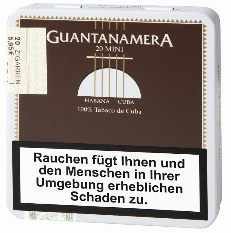 Minis  Guantanamera MM TIN 20'S