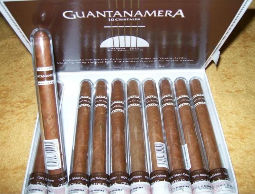 Guantanamera Cristales top seller in store