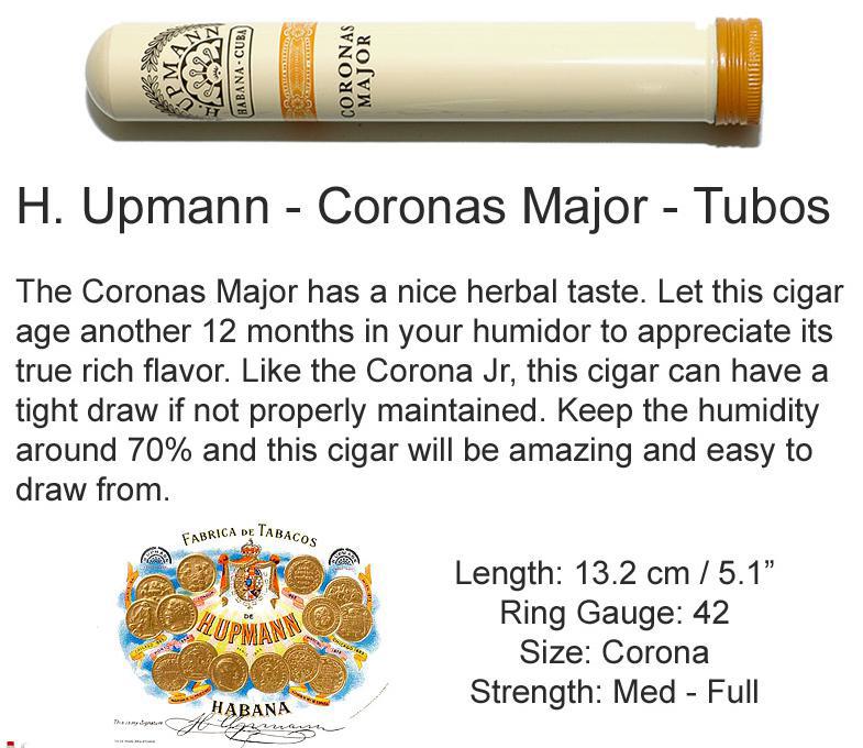 H. Upmann Coronas Major HF CL AT