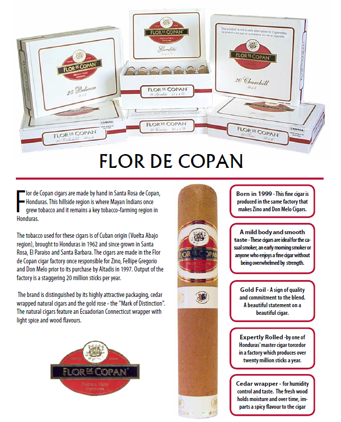 Cigars Flor de Copan