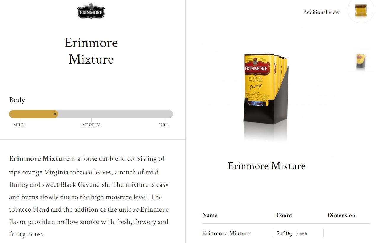 Erinmore Mixture