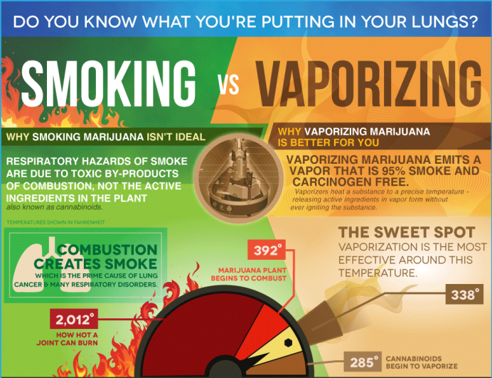 Smoking vs Vaporizing