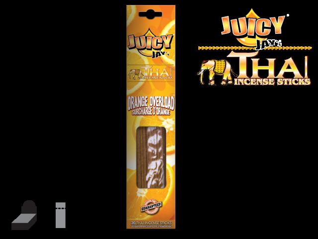 JUICY JAY'S® THAI INCENSE STICKS – ORANGE OVERLOAD