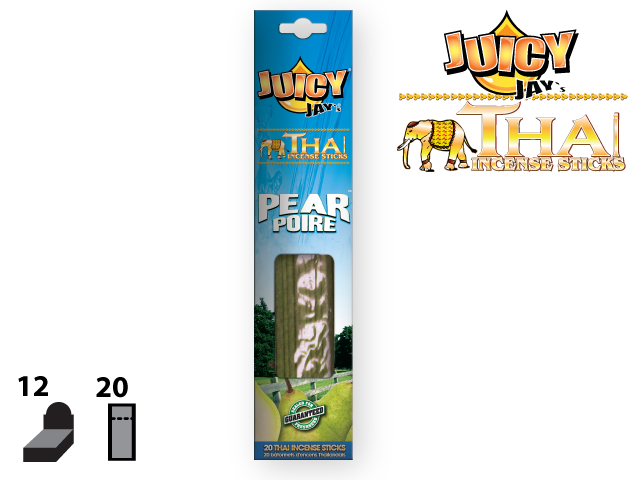 JUICY JAY'S® THAI INCENSE STICKS – PEAR
