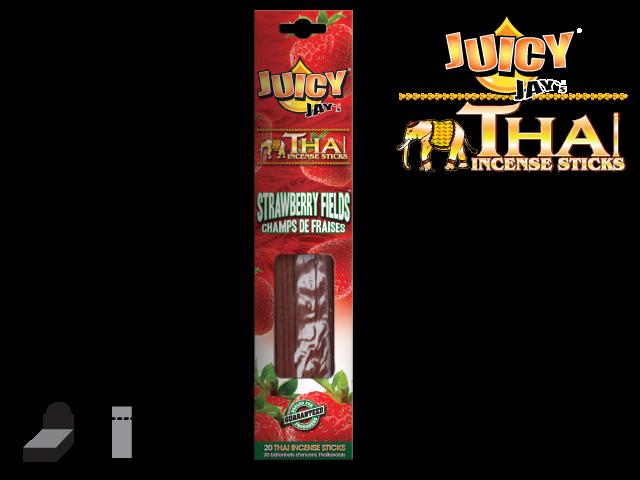 JUICY JAY'S® THAI INCENSE STICKS – STRAWBERRY FIELDS