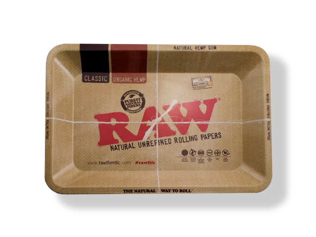 RAW® METAL ROLLING TRAY MINI&SMALL&LARGE