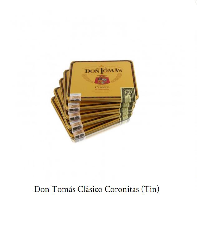 Don Tomás Clásico Coronitas (Tin)