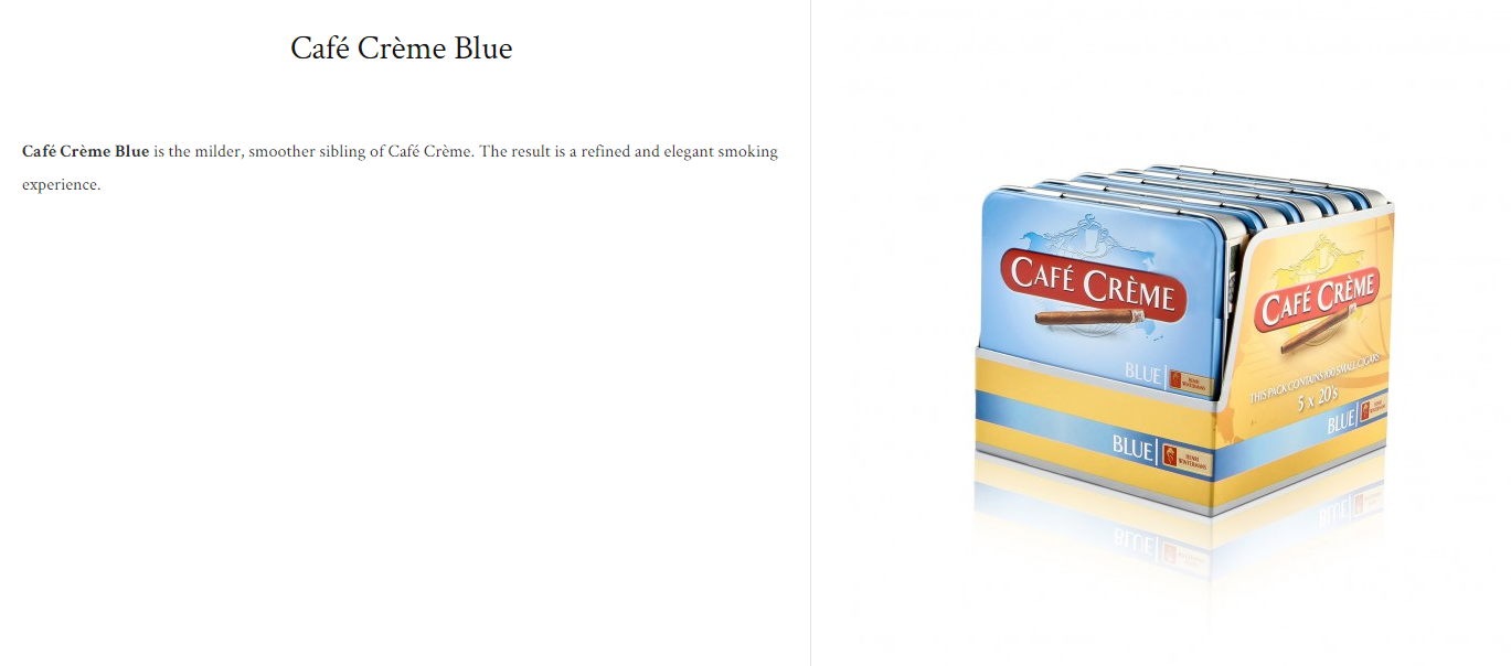 cafe creme blue$19.99 (package of 20)