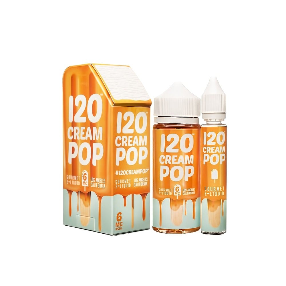 Mad Hatter-120ml Cream Pop $49.99 (3mg&6mg)