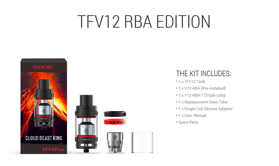 SMOK TFV12 CLOUD BEAST KING TANK