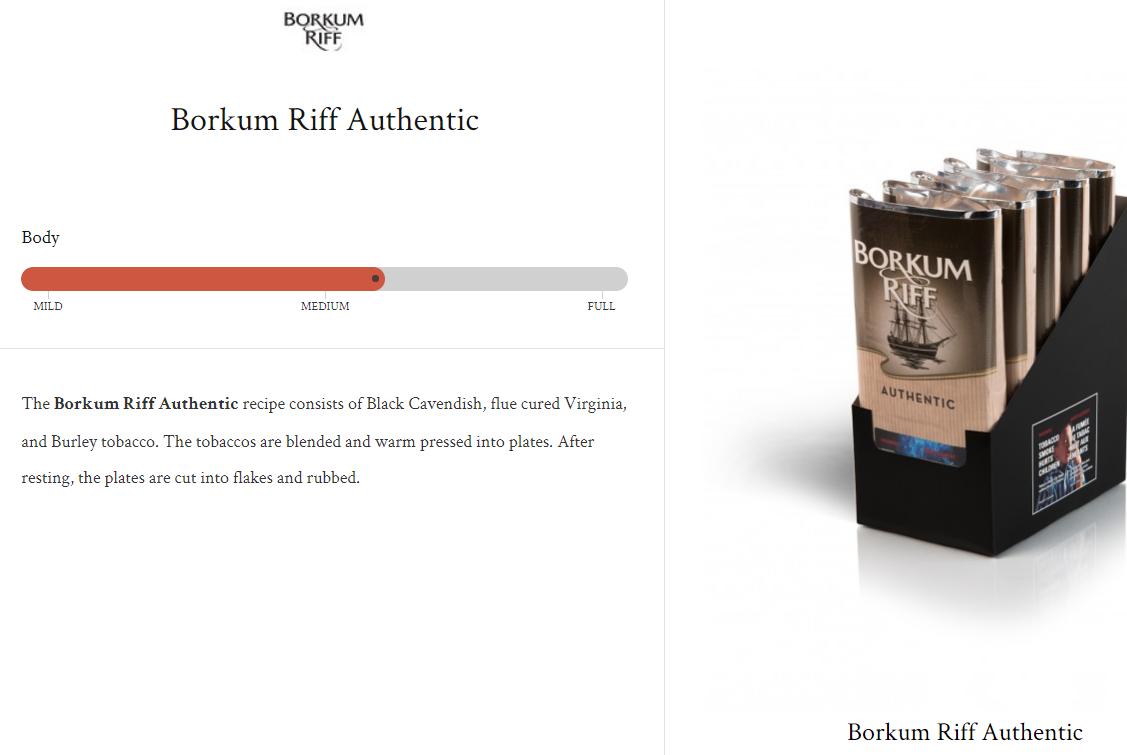 Borkum Riff Authentic